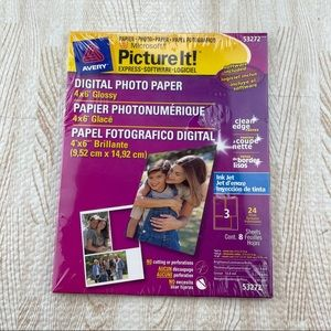 Avery Picture it 53272 Glossy Photo Picture Paper